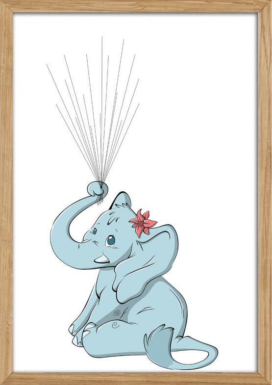 Elefant til fingeraftryk