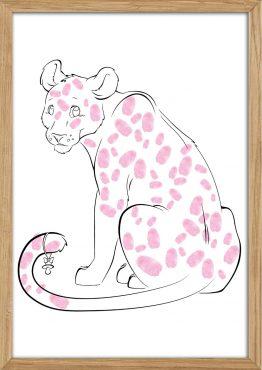 Leopard til fingeraftryk