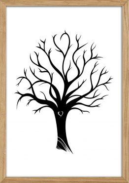 Træ til fingeraftryk